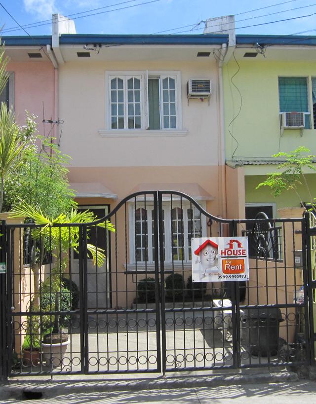 Mactan 2BR Townhouse 181 At BF Better Living Village Near Gaisano Mall  Lapu Lapu Cebu For Rent 12,000 | Mactan Properties