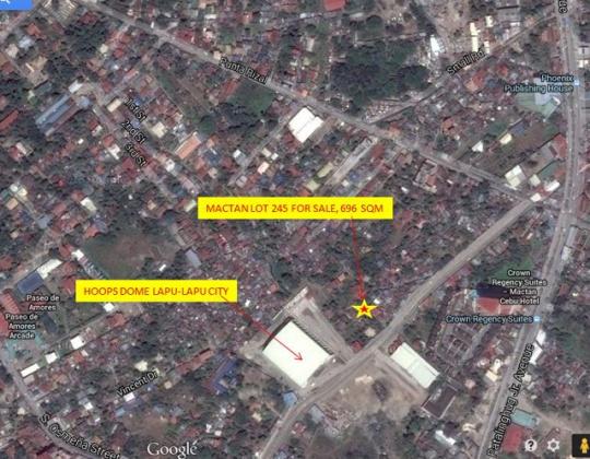 Mactan Lot 245 Location