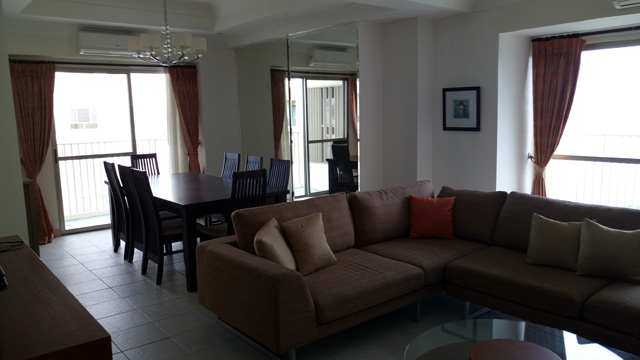 FOR RENT Nicely Furnished 3BR Condo 300 Located At The Residences 2 Of  Movenpick Hotel Mactan Island Cebu. This Unit Offers Sea Views On The  Shangrila Hotel ...